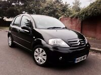 SUPERB EXAMPLE 2008 CITROEN C3 1.6 HDI 5DR £30 ROAD TAX HPI CLEAR LOW MILEAGE