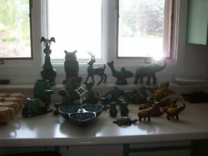 Large collection of Blue Mountain Pottery