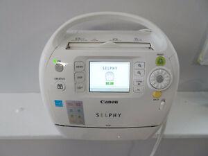 Canon Selphy ES30 Compact Photo Printer