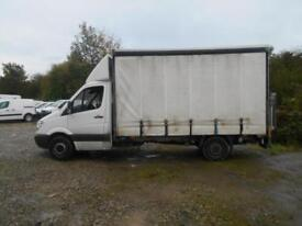 2013 MERCEDES SPRINTER 313 CDI LWB CURTAIN SIDE BOX WITH TAIL LIFT CURTAIN SIDE
