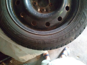 Tires on rimes