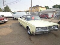 1967 Chrysler Newport 383 Automatic Runs And Drives Great $5000