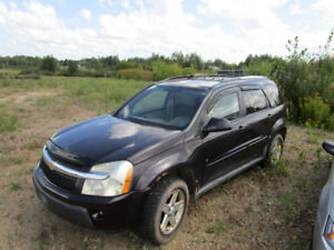 2006 Chevy Equinox for sale as is!