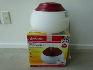 Sunbeam Warm Steam Vaporizer Humidifier Filter-Free Sunbeam warm