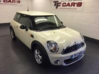 2011 11 REG Mini 1.6 One WHITE ALLOYS * FINANCE AVAILABLE!