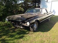1964 tbird project car very solid, ratrod, lowrider