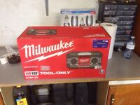 Brand new Milwaukee job site radio FS
