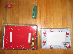 Photo Christmas Cards - 2 Kinds (23 Total)