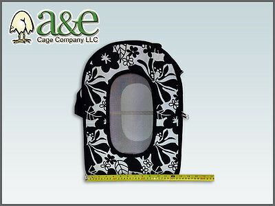 Parrot Bird Travel Cage Sleep Carrier Soft Sided