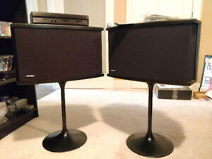 Bose 901 Series VI direct/reflecting loudspeakers + Bose stands