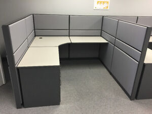 Teknion Cubicles for Sale, Any Size Any Height 4 Colour Options