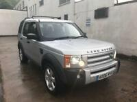 2006 Land Rover Discovery 3 2.7 TDV6 auto HSE 1 OWNER + SAT NAV LEATHER 7 SEATS