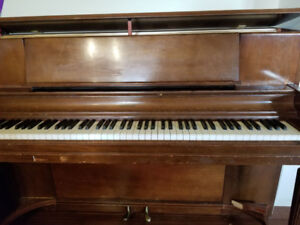 Great 1960s vertical grand piano for free!!!