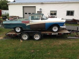 1957 ford car parts wanted