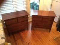 Warren Evans chests of drawers (pair)
