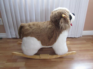 Rocking Horse/Rocking Dog with Realistic Sounds