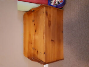 Solid wood toy box/storage chest