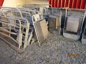 galvanized farrowing crates $75
