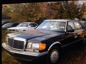 1986 Mercedes for sale