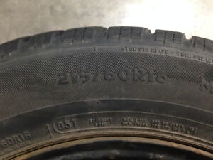 Used winter tires, never too soon