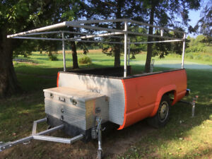 All-New Work Mate Trailer or Potential Camper