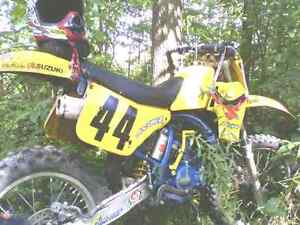 1989 RM125J Great shape. Original paint. Cornwall Ontario image 3