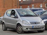 Mercedes-Benz A160 2004 1.6 ( SWB ) Elegance**LOW MILES 49K + BARGAIN***