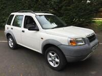 2000 Land Rover Freelander 1.8 XEi MANUAL PETROL...