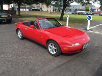 Mazda MX5 Rare 1.8 1995 Mot December (Mx-5 mx5)