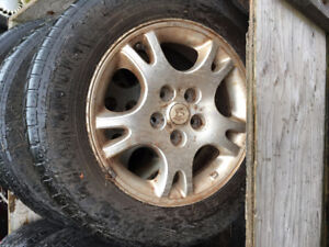 Rims for sale! Great for Winter Tires!
