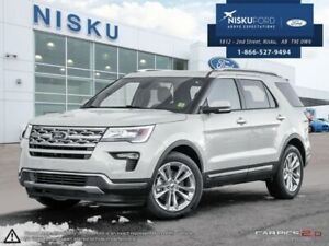 2018 Ford Explorer Limited  - Sunroof - Park Assist