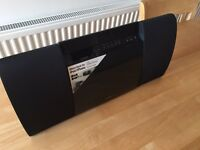Sony CMTCX5BIP 40 Watt Slim Hi-Fi System with iPod/iPhone Dock and DAB/DAB+ - Black