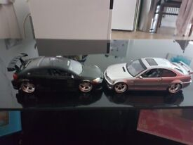 2 BMW & Scion replica cars