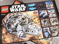 Brand new - Boxed - LEGO Star Wars Millennium Falcon 75105 RRP £129.99