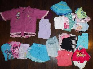 Lot Vêtements Fille (24 mois-2 ans - 3 ans-4 ans)