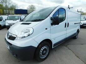 VAUXHALL VIVARO 2.0CDTI LWB 115PS 2900 1 OWNER F/S/H 1 HOUR DRIVEAWAY FINANCE