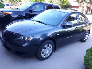 MINT, clean Mazda 3 2.3L with LOW KM 107,000