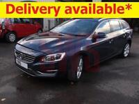 2015 Volvo V60 SE Lux Nav D3 2.0 DAMAGED REPAIRABLE SALVAGE