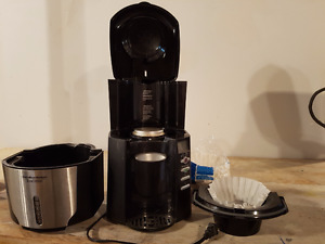 12 cup Hamilton Beach BrewStation with filters