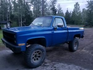 1982 chevy k10