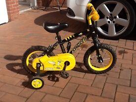 """Kids Bike 12"""" Wheels 3-5 years"""