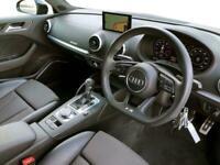 2017 Audi A3 SPORTBACK SPECIAL EDITIONS 2.0 TFSI Quattro Black Edition 5dr S Tro