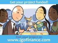 Post your project on igofinance.com and get support!