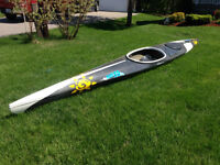 17' carbon-fibre touring sea kayak-Seabird Design