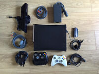 Xbox 360 120GB bundle with Kinect and 6 games