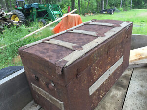 OLD Old Wooden Chest