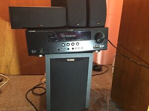 Yamaha Reciever w/ Polk Audio Spkrs