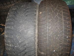 2-245/40R18 Dunlop SP Winter Sport 3D and M3