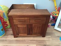 Side board coffee table tv stand