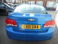 Chevrolet Cruze LT (blue) 2010